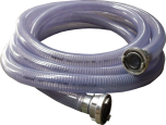 Klotz Saug-Druckschlauch PVC mit Storz C-Kupplung 3 Meter