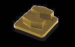Husqvarna Schleifklotz Copper G 670 für weichen Beton