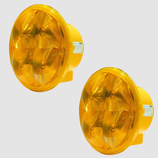 Nissen zweifach-Lichtwarnanlage Multi-Light 340 LED Flash L9M