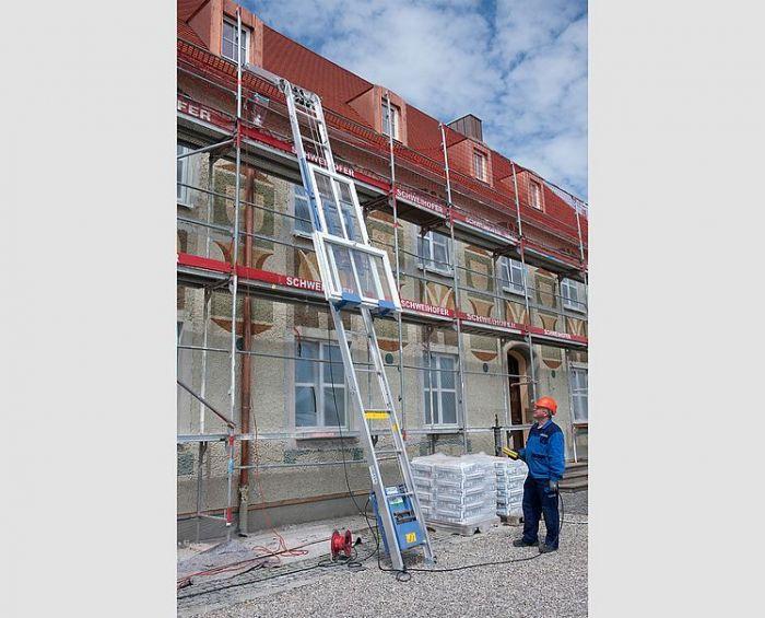 Geda Solar-Fixlift 250 bis 14 m Komplettpaket mit Solarpritsche