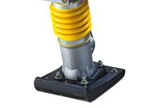 Bomag X25-Fußplatte 240 mm 13° Anflanschwinkel