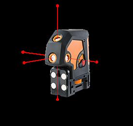 Geo Fennel Punktlaser Geo 5P 5-Punkt-Laser