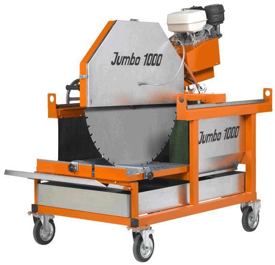 Norton Blocksteinsäge JUMBO 1000 P13 EASY START Benzinmotor