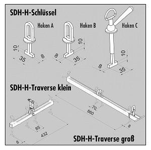 Probst Schlüssel Haken C für SDH-H