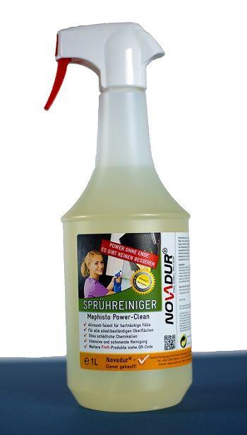 Novadur Mephisto Power Clean 1 Liter Sprühflasche