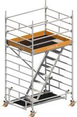 Uni-Komfort Treppengerüst 4201; Arbeitshöhe 4.20 m
