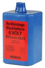 Blockbatterien Standard (Zink-Kohle)