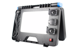 LED-Arbeitsleuchte 100W mit Bluetooth Soundsystem