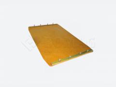 Bomag X5 Kunstoffplatte-Vulcolanmatte für BVP 10/30 Rüttelplatte