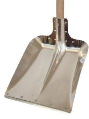 Leichtmetall-Randschaufel mit Holzstiel