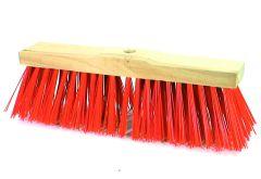 Straßenbesen Original-Elaston, Sattelholz mit Stielloch