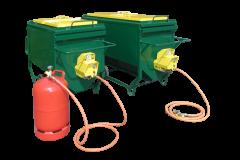 Grün Bitumenkocher PRIMAT 150 und 250