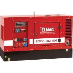 Elmag Stromerzeuger SEDSS 83WDE-AVR-DSE4520 - Stage 5 mit KUBOTA-Motor