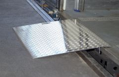 Altec AWB Überfahrbrücke Aluminium