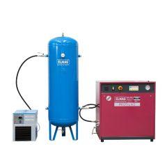 "Elmag Kompressor PROFI-LINE ""SILENT"" - Paket 2 PL-S 750/10/3 D"