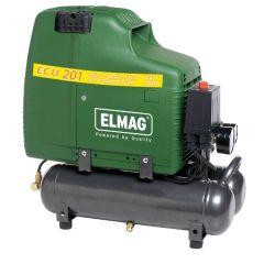 Elmag Ölfreier Spezialkompressor ECU 201/8/6 W, 1 PS, 1400 UpM
