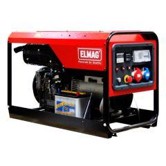 Elmag Stromerzeuger SED 10000WDE-AVR mit LOMBARDINI 12LD 477 Motor