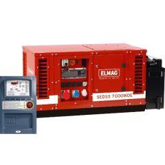 Elmag Notstrom-Komplettpaket SEDSS 7000WDE-ASS DIESEL-Stromerzeuger