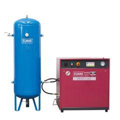 "Elmag Kompressor PROFI-LINE ""SILENT"" - Paket 1 PL-S 750/10/3 D"