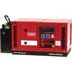 Elmag Stromerzeuger SEBSS 6000WE-AVR-DSE3110 mit HONDA-Motor GX390