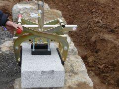 Probst Set GaLa Bau 1 - Trittstufenversetzzange TSZ-UNI + Höhenverstellbare Auflage HVA