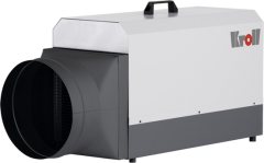 Kroll Elektroheizer E 18 SH mit Warmluftschlauchanschluss