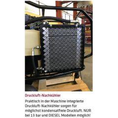 Elmag Luft-Nachkühler mit Wasserabscheider und autom. Ableiter