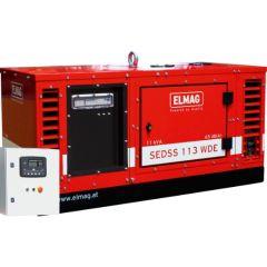 Elmag Notstrom-Komplettpaket SEDSS 113WDE-ASS DIESEL-Stromerzeuger