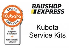 Kubota Service Kit für Bagger KX016-4 / KX018-4 / KX019-4