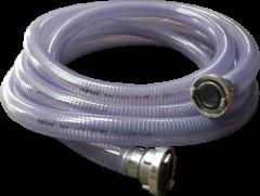 Klotz Saug-Druckschlauch PVC mit Storz B-Kupplung 3 Meter