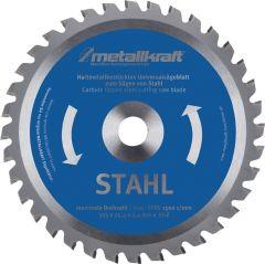 Metallkraft Metallkreissägeblatt STA D.355mm B.2,4mm HM