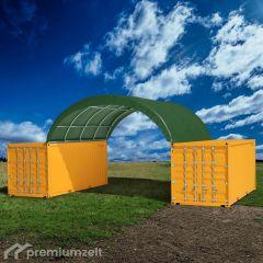 Premiumzelt FLEXTOP Container Überdachung FT 806