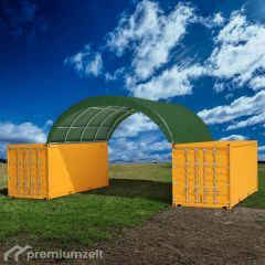 Premiumzelt FLEXTOP Container Überdachung FT812