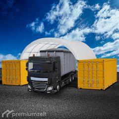 Premiumzelt FLEXTOP Container Überdachung FT606