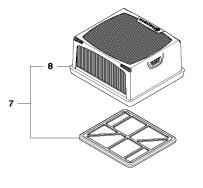 Husqvarna Ersatzteile für Trennschleifer  K 760