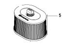 Husqvarna Ersatzteile für Trennschleifer  K 970 II