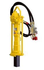 Atlas Copco Hydraulik-Pfahltreiber LPD-RV mit Fernsteuerventil für Ø 40 - 100 mm