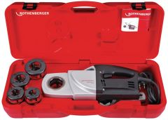 Rothenberger Gewindeschneidmaschine SUPERTRONIC® 1250 Set