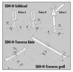 Probst Schlüssel Haken für SDH-H