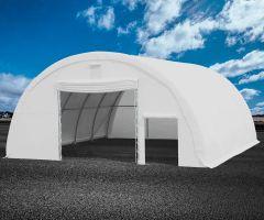 Premiumzelt PVC Rundbogenhalle R912 | 9