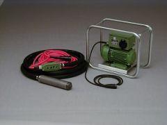 Laier Hochfrequenz-Umformer mit LATI Hochfrequenz Innenrüttler