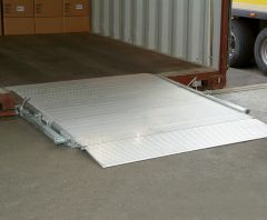 Altec HF Überfahrbrücke Aluminium