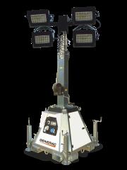 Pramac Lichtmast Generac CTF 10 4x240W LED freistehend